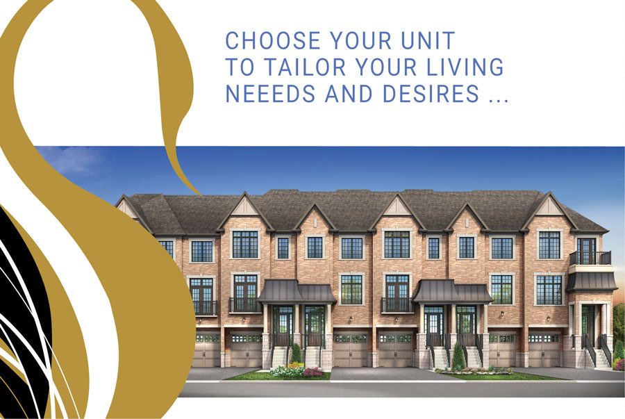 Swan Park is a new townhouse development by Digreen Homes currently in preconstruction