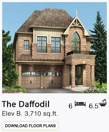 The Daffodil Elevation B Floor Plans