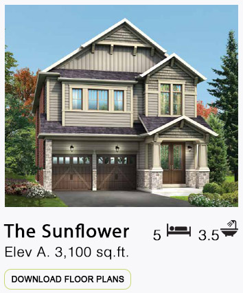 The Sunflower Elevation A Floor Plans