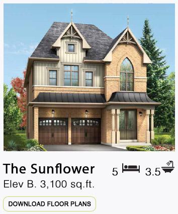 The Sunflower Elevation B Floor Plans